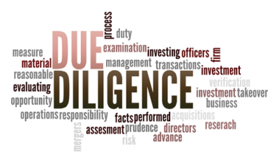 Due diligence & project screening